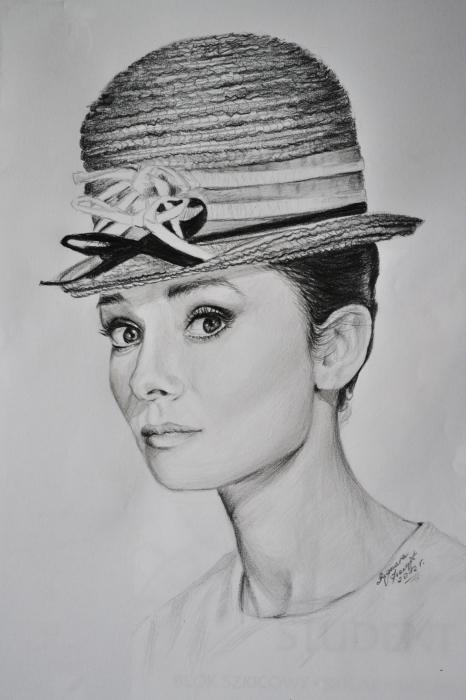 Audrey Hepburn por Zahira